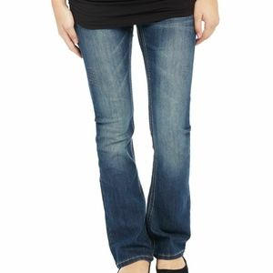 NWT  Blue Secret Fit Belly Stitched Jeans M